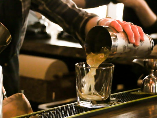 Keep an eye on restaurant bartenders. They should frequently