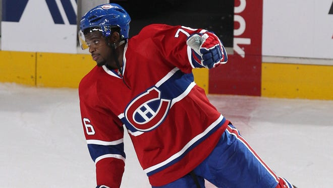 Montreal Canadiens defenseman P.K.Subban will get $72 million over eight years in his new contract.