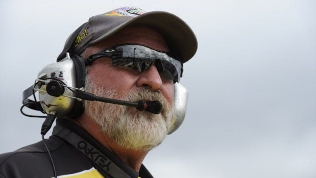 Mark Lyle, who died March 27, had served as the chief starter in the NHRA since 2012.