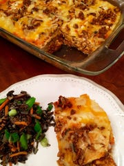 Spicy Enchiladas Casserole is a simple, filling and