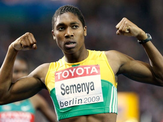 South Africa's Caster Semenya has been subjected to