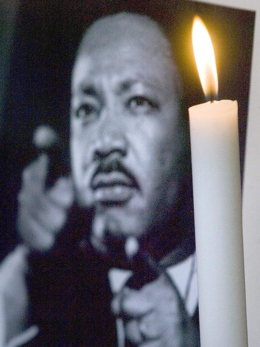 MLK file photo