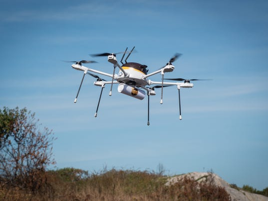 UPS Open Ocean Drone Delivery Test A Success