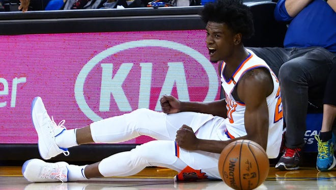 Josh Jackson shined late in the season for the Phoenix Suns.