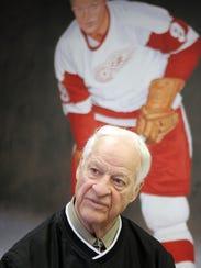 Former Red Wing great Gordie Howe in 2008.
