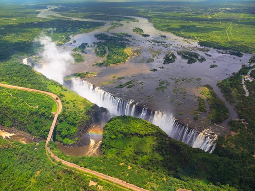 Zambia and Zimbabwe: Head to these two countries to
