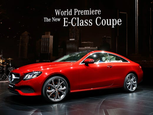 New Mercedes Benz E Coupe Has 9 Speed Automatic Transmission
