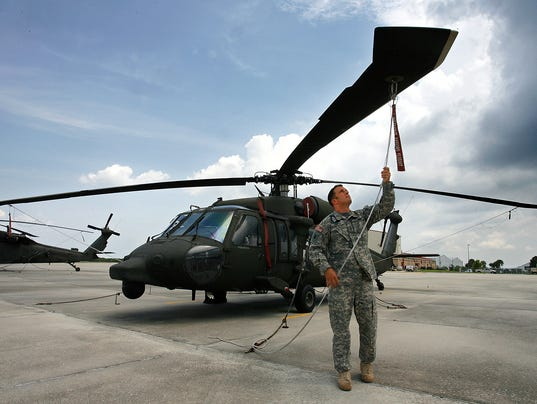 AP Florida Black Hawk Helicopters