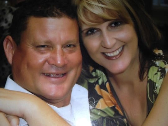 This undated image shows Jack and Laurie Beaton of Bakersfield, Calif. Jack was killed in Sunday's shooting in Las Vegas.