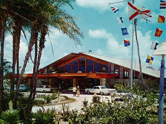 For many years, the yacht club was the only facility