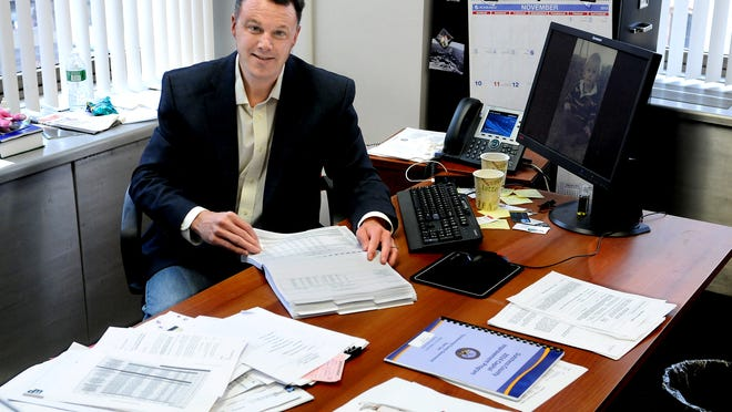 Dutchess County Comptroller Jim Coughlan ended his campaign on Friday.