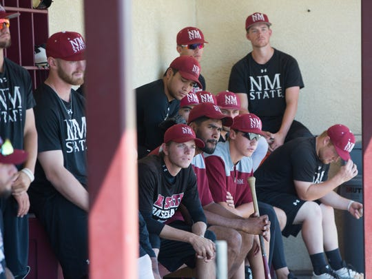 The New Mexico State baseball team returned to practice on Tuesday at Presley Askew Field ahead of Friday's NCAA Regional against Texas Tech in Lubbock, Texas.