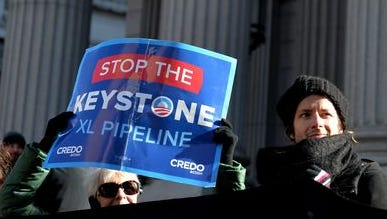 Keystone XL oil pipeline defeated.