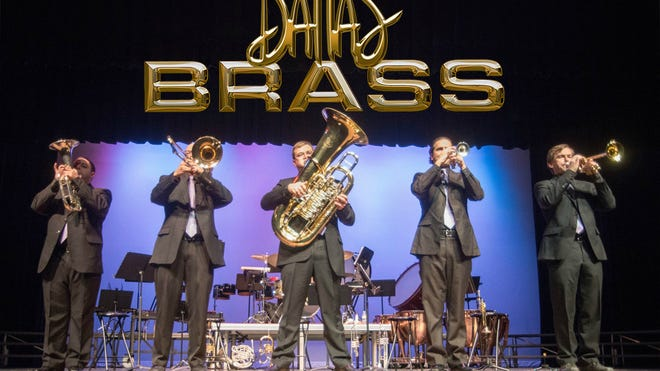 The Dallas Brass with vocalist Bryan Anthony will perform Saturday at Civic Hall.