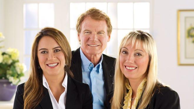 Nicole, Danny and Colleen Wegman
