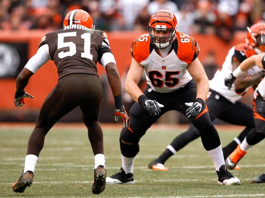Bengals work on O-line as next step in free agency