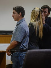 Kevin Hogrefe, left, was found guilty of second-degree