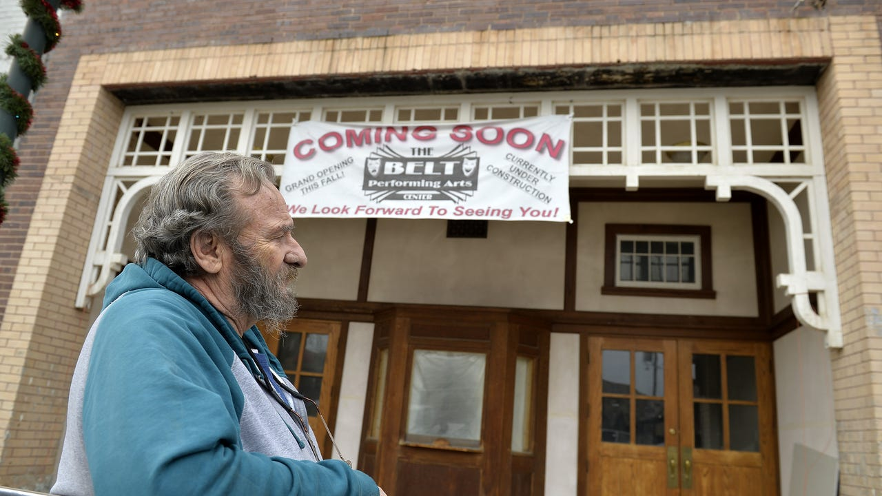 100-year-old Belt Theater gets a makeover