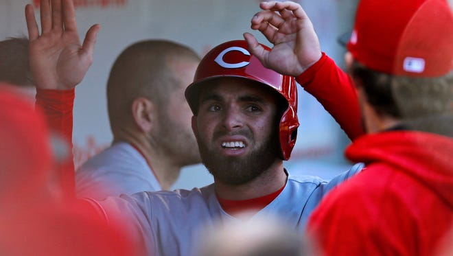 The Reds will give 23-year-old Jose Peraza a chance to prove his capability in 2018