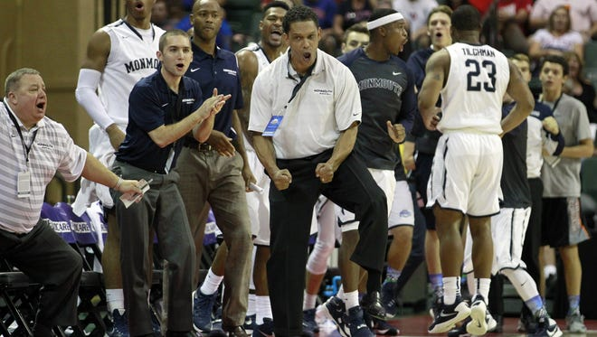 Monmouth University fell to Dayton on Friday night in a semifinal at the AdvoCare Invitational