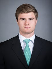 MSU hockey player Tommy Miller played last year for