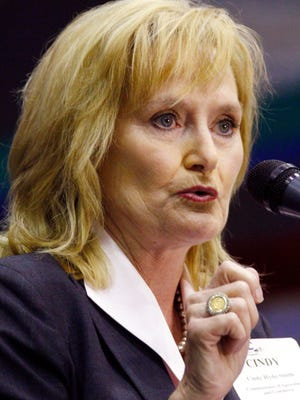 Republican state Agriculture and Commerce Commissioner Cindy Hyde-Smith receives The Clarion-Ledger's endorsement.