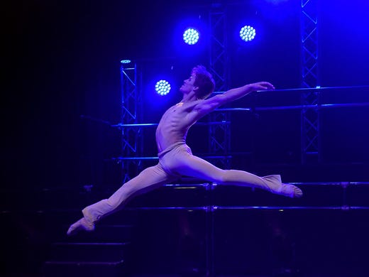 Pushing the limits' with Vortex, The Ballet that Rocks
