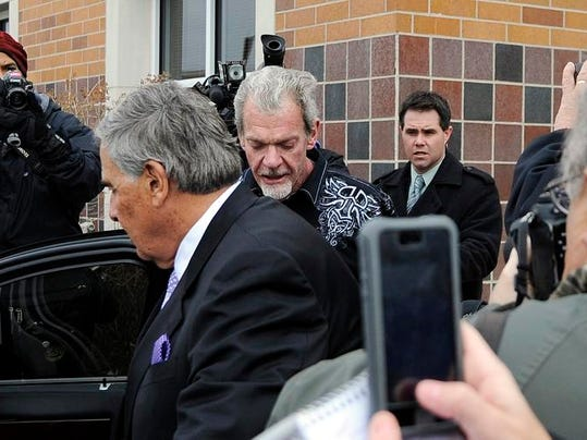 APTOPIX Colts Owner Arrest