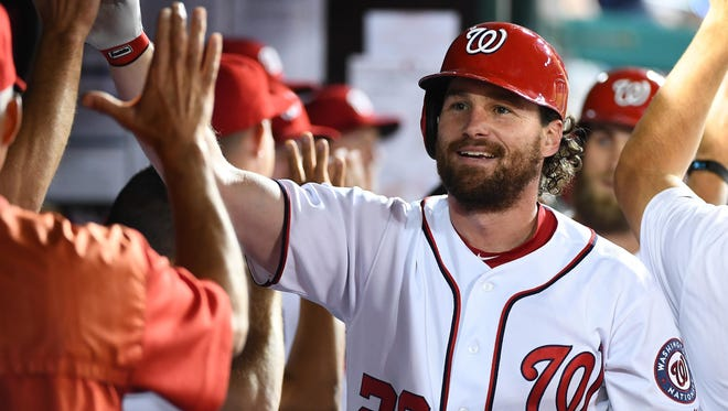Daniel Murphy and the Nationals have not lost a game in over a week.