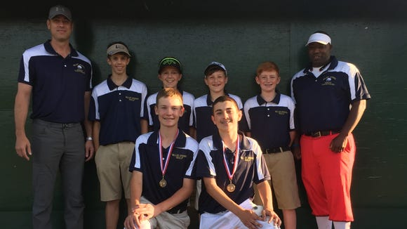 The Valley Springs Middle School golf team recently finished off an undefeated season.