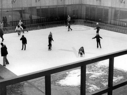 'X' marked the spot for a little more than a decade for children and adults to ice skate at Xerox Square.