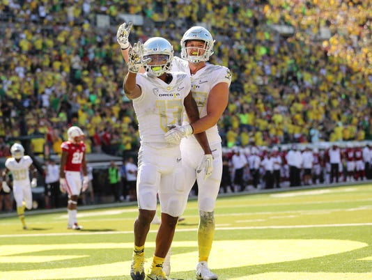 NCAA Football: Nebraska at Oregon