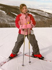 Alyssa Schrenker, at approximately 10 years old on