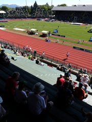 The U.S. Olympic Trials for track and field at Hayward Field in Eugene, Ore., on Saturday, July 2, 2016.