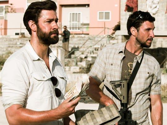 From left, John Krasinski plays Jack Silva and Pablo