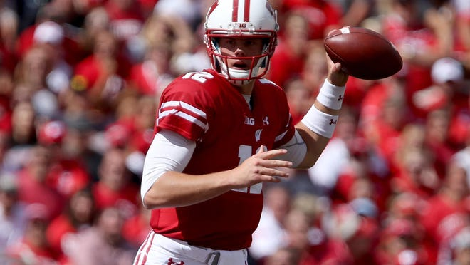 Wisconsin backup quarterback Alex Hornibrook entered in the fourth quarter and led the win.