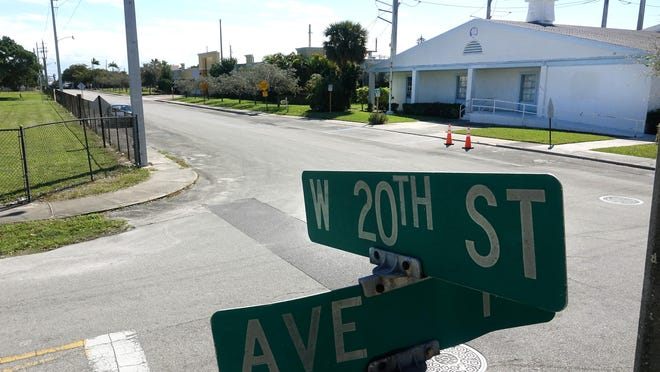 The area around Victory City Church at 163 W 20th St in Riviera Beach Friday, February 28, 2020, where two people were killed Feb. 1st.