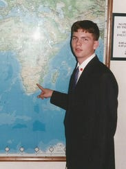 Jake Fairhurst did missionary work in South Africa.