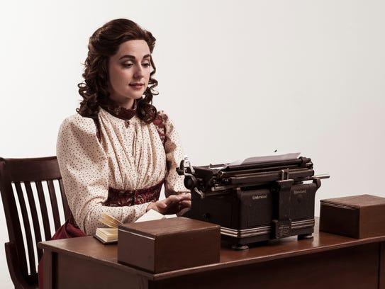 "Winfield as cub reporter Katherine in ""Newsies"""