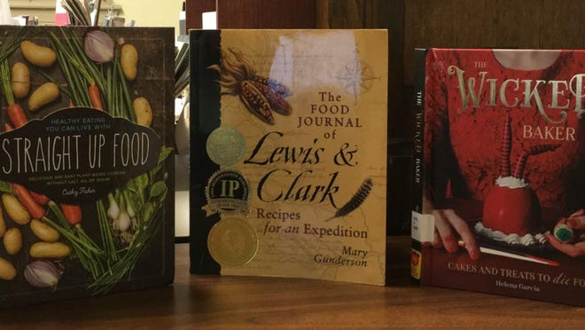 """""""Straight Up Food"""" by Cathy Fisher, """"The Food Journal of Lewis & Clark"""" by Mary Gunderson and """"The Wicked Baker"""" by Helena Garcia are now available through the Port Jervis Free Library."""