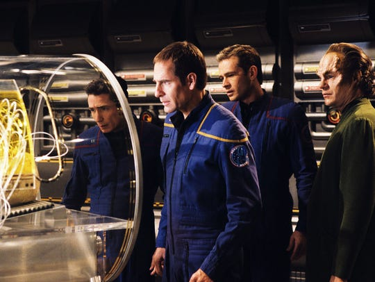 A scene with 'Star Trek: Enterprise's' Captain Archer