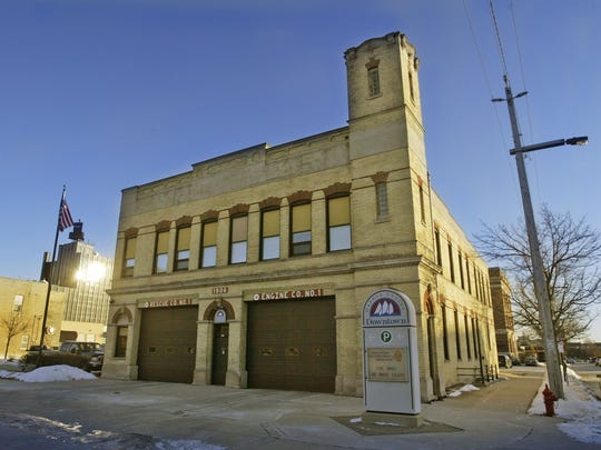 Downtown Sheboygan Fire Station No. 1.