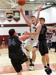 Genoa's Jacob Plantz earned first-team all-Northwest District status.