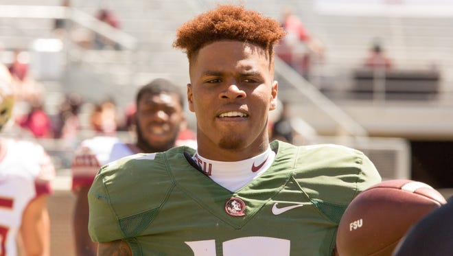 Florida State quarterback Deondre Francois had an inconsistent performance for the Seminoles on Saturday, finishing 13/28 with 133 yards passing 1 TD and an interception during the annual Garnet and Gold Spring Game at Doak Campbell Stadium.