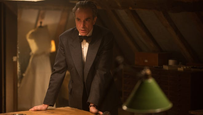 Daniel Day-Lewis is back in awards contention playing fictional fashion playboy Reynolds Woodcock in Paul Thomas Anderson's 'Phantom Thread.'
