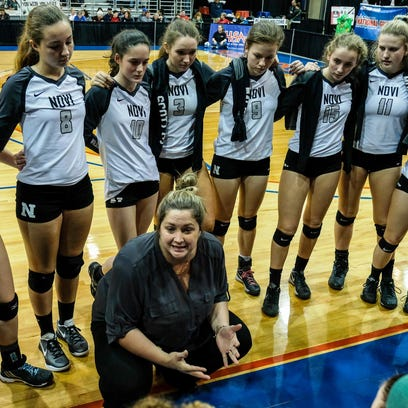 Novi's three-time Class A champ volleyball coach Cottrill steps down