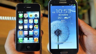 The Supreme Court ruled in a design patent infringement case pitting the world's top two smartphone makers, Apple and Samsung.