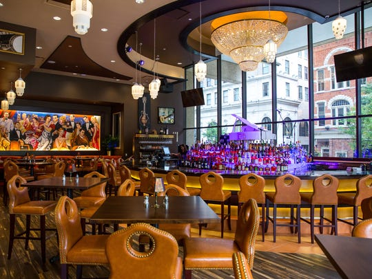 Jeff Ruby's in Nashville, Tenn., is a colorful space.