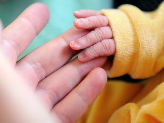 Bebé recién nacido.