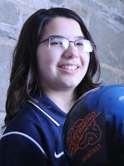 Girls Bowler of the Year Victoria Pacacha of John Jay High School.
